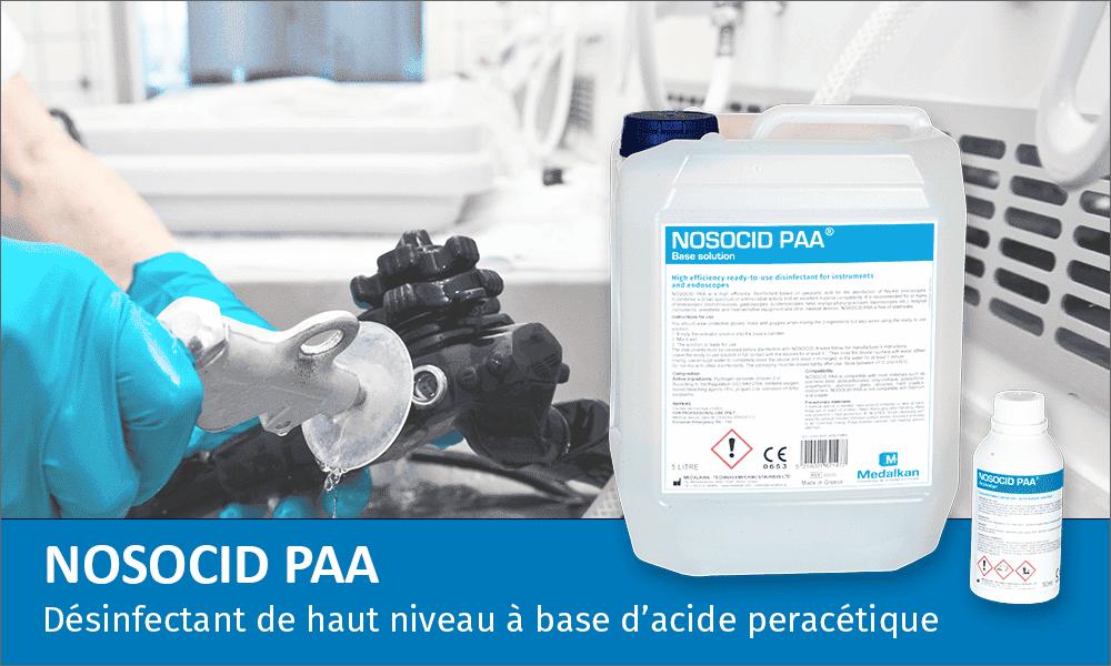 NOSOCID PAA-Désinfectant de haut niveau à base d'acide peracétique