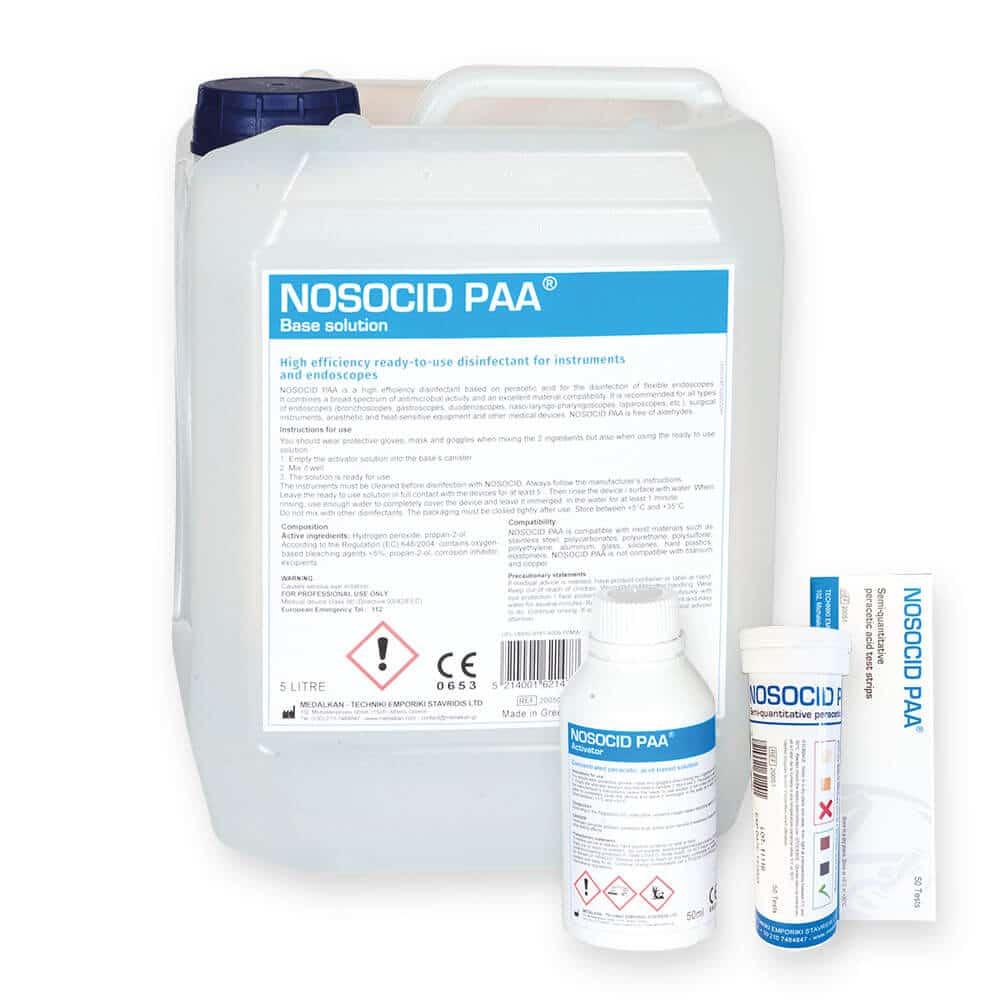 NOSOCID PAA - Désinfectant de haut niveau à base d'acide peracétique