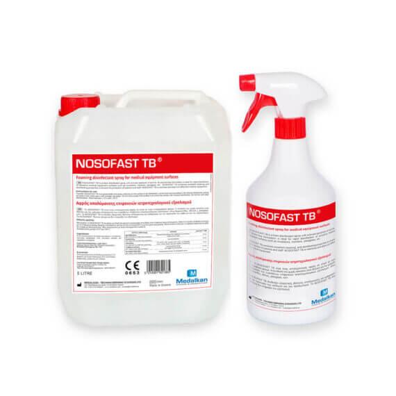 NOSOFAST TB - Αφρός απολύμανσης επιφανειών ιατροτεχνολογικού εξοπλισμού