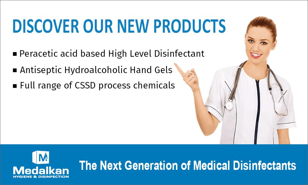 New disinfectants MEDALKAN