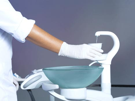 Disinfectants for spittoons & suction systems