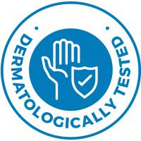 Dermatologicaly tested on sensitive skin