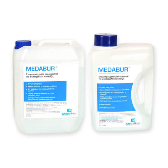 MEDABUR - Ready-to-use disinfectant for rotary instruments and burs
