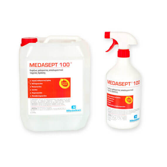 MEDASEPT 100 - Fast acting broad spectrum surface disinfectant