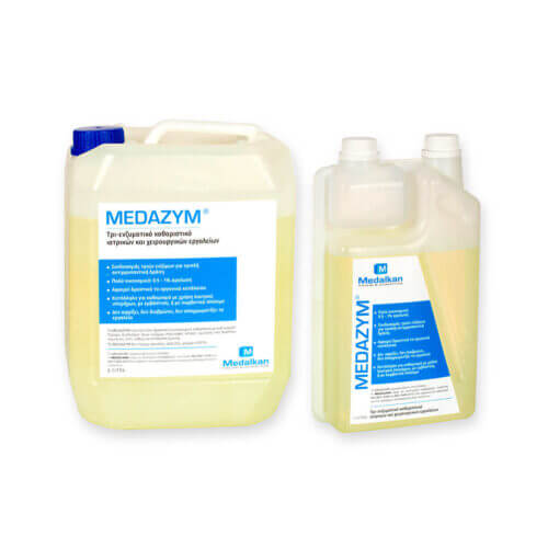 MEDAZYM - Tri-enzymatic cleaner for surgical and medical instruments