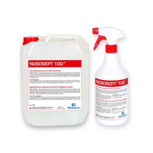 NOSOSEPT 100 - Surface broad spectrum fast acting disinfection spray